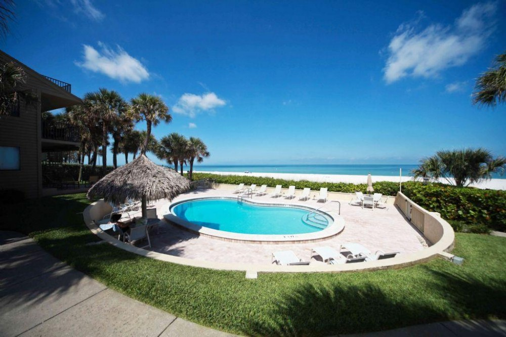 Belleair Beach vacation rental with pool and view