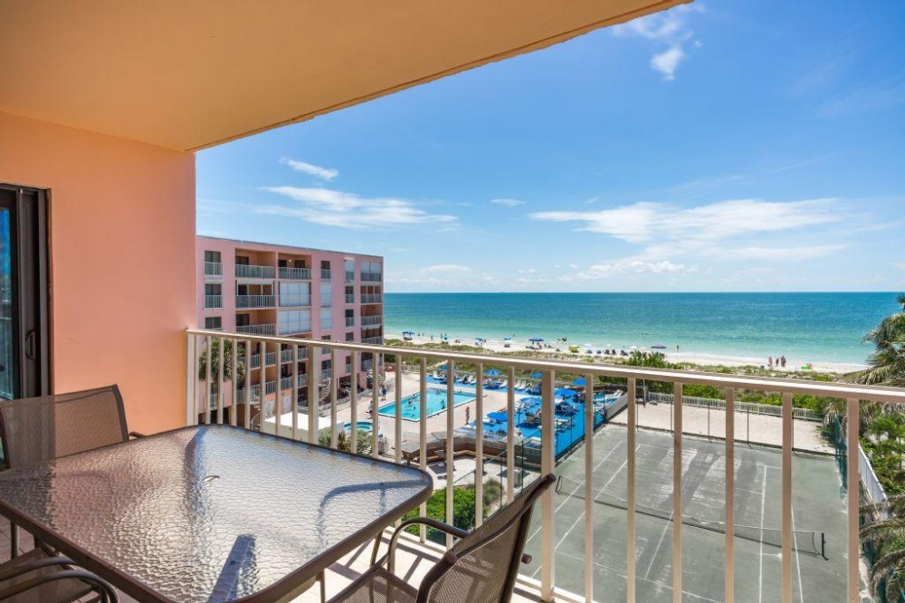 Indian Rocks Beach vacation rental with View from the Balcony