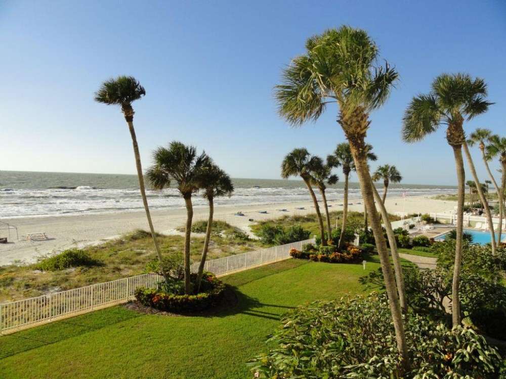 Indian Shores vacation rental with north view