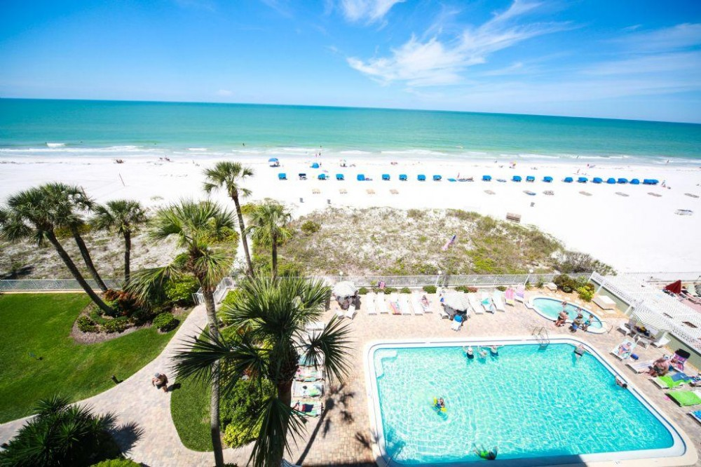 Indian Shores vacation rental with Pool View