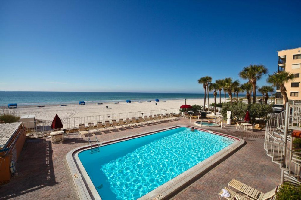 Indian Shores vacation rental with view and pool