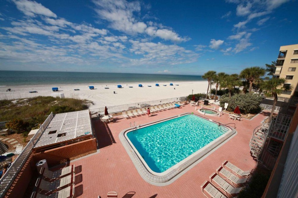 Indian Shores vacation rental with pool and view