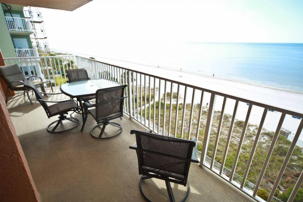Indian Shores vacation rental with balcony and view