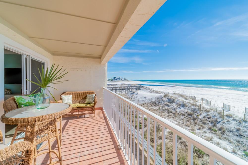 Santa Rosa Beach vacation rental with Balcony View