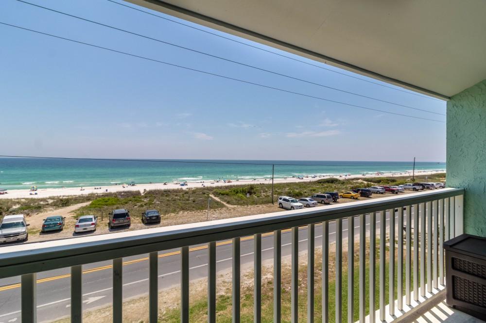 Panama City Beach vacation rental with Balcony Views