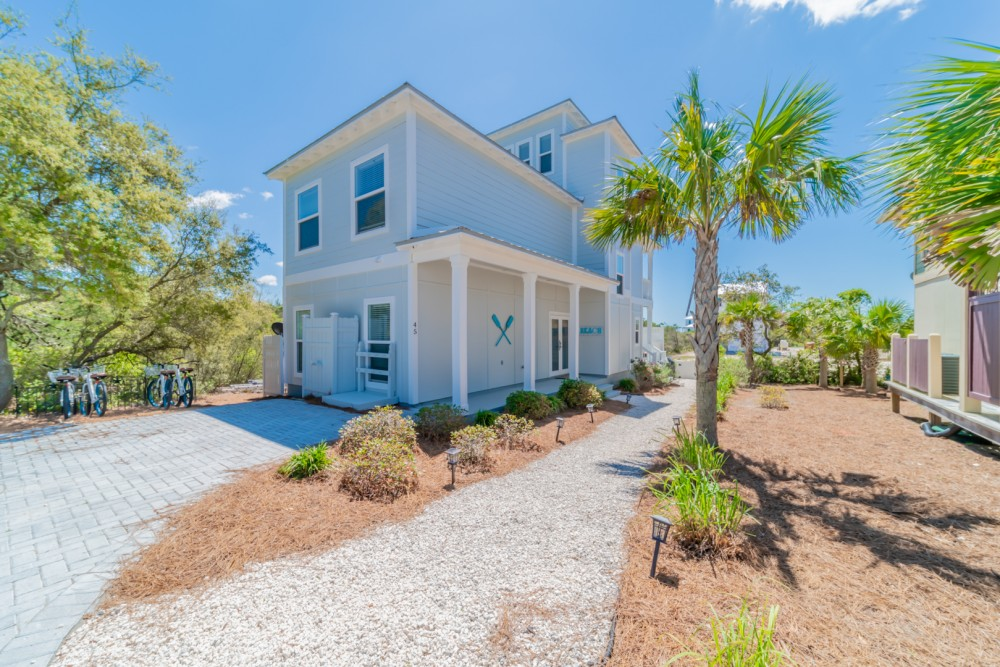 Inlet Beach vacation rental with