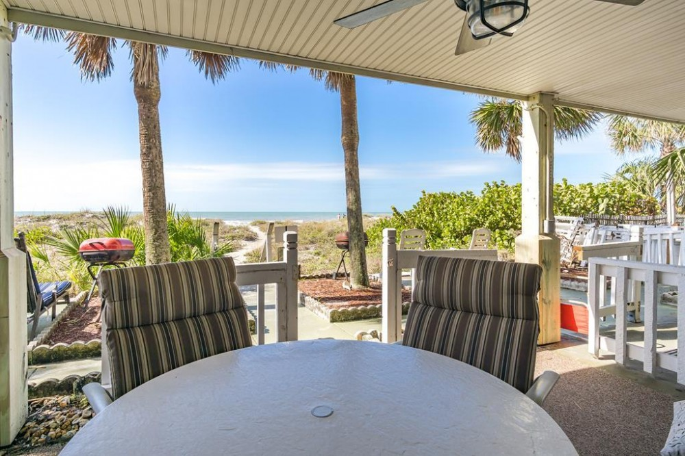 Indian Rocks Beach vacation rental with Outdoor living area