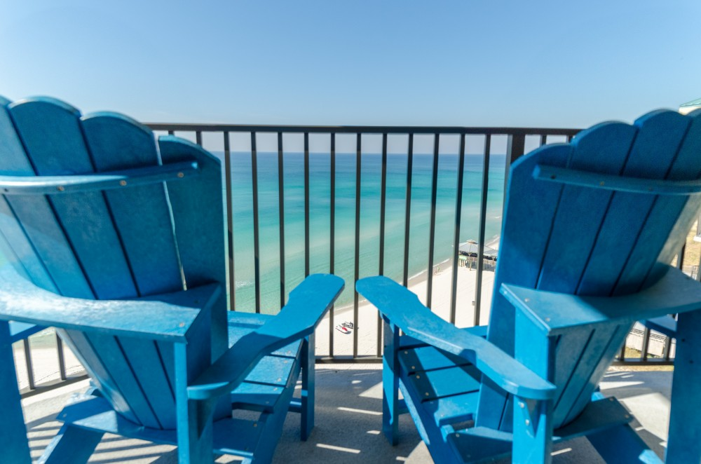 Panama City vacation rental with Welcome to the Compass Rose Penthouse  Sunbird 1205W  What a view and more space than other units in Sunbird  too