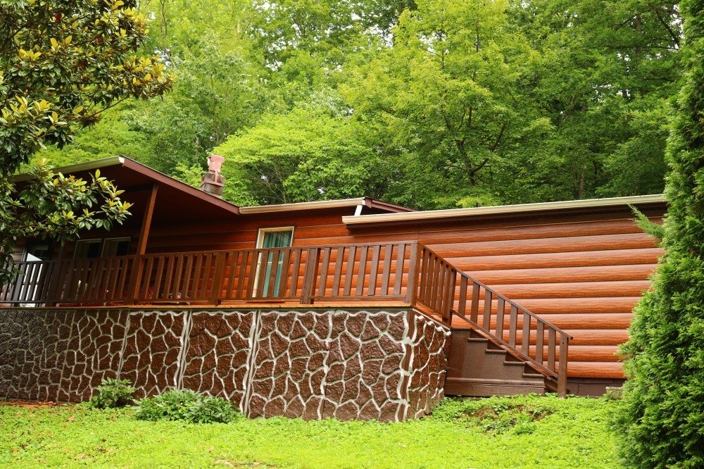 Speedwell vacation rental with Cabin at the Lake front of house