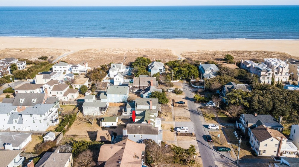 Virginia Beach vacation rental with Aerial View of Home