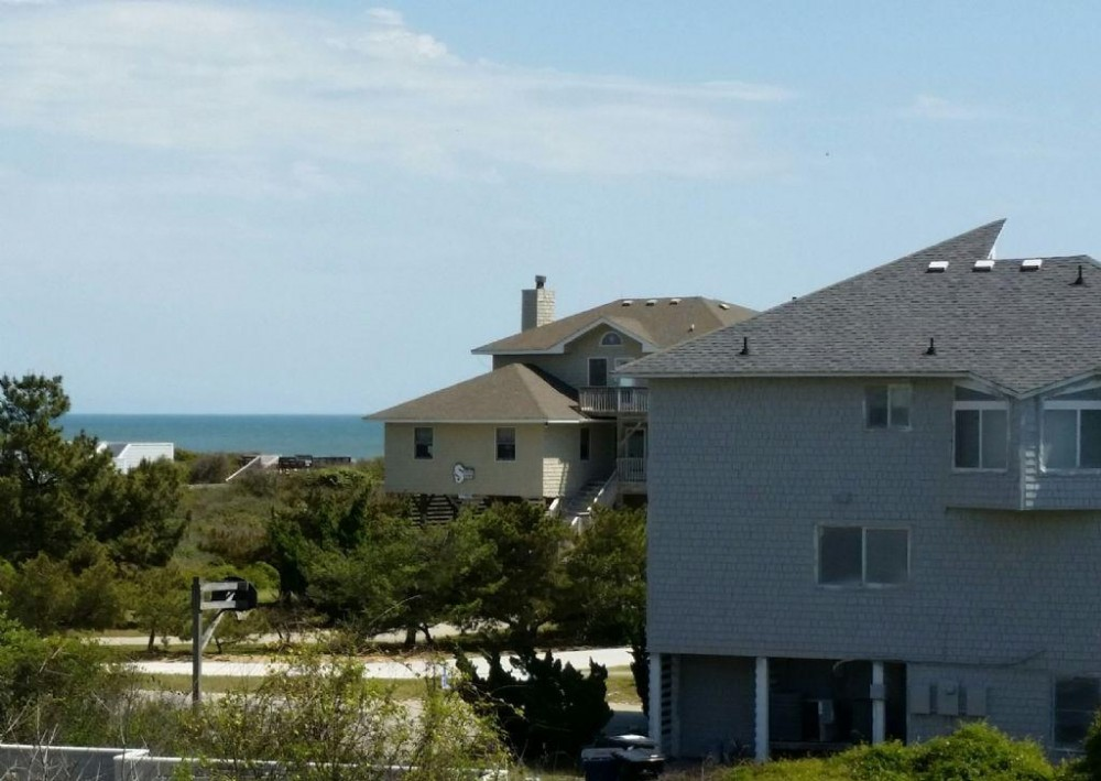 Ocean Views from Deck Duck vacation home