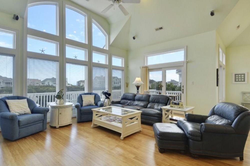 Living Area Airbnb Alternative Corolla North Carolina Rentals