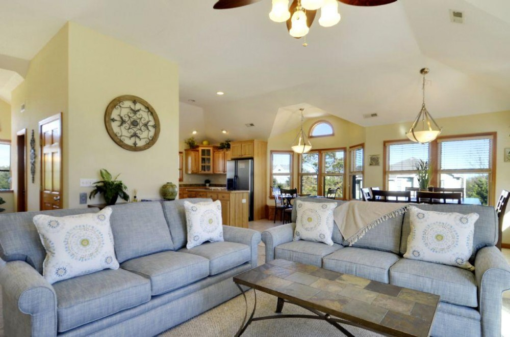 Living Area Airbnb Alternative Duck North Carolina Rentals