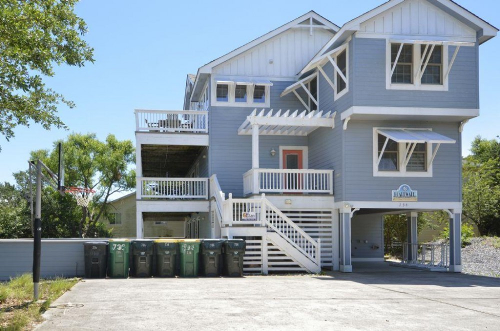 Corolla vacation rental with Boardwalk