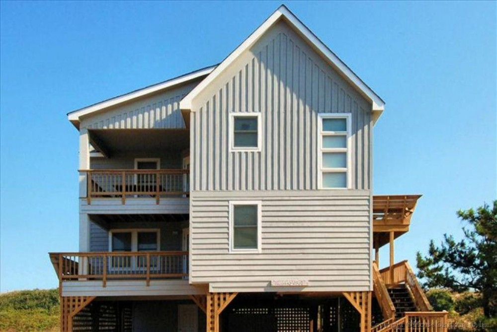 Duck vacation rental with Front Elevation