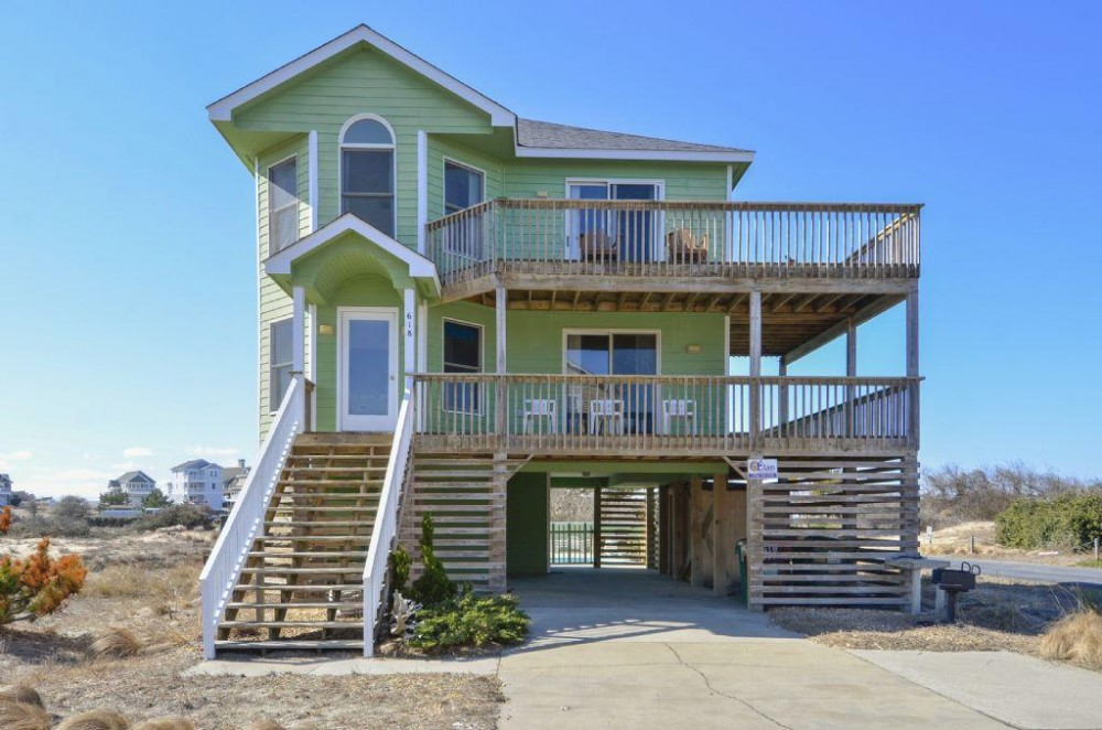 Corolla vacation rental with Pelicans Roost