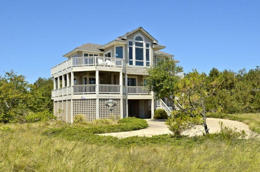 corolla vacation rental with Exterior