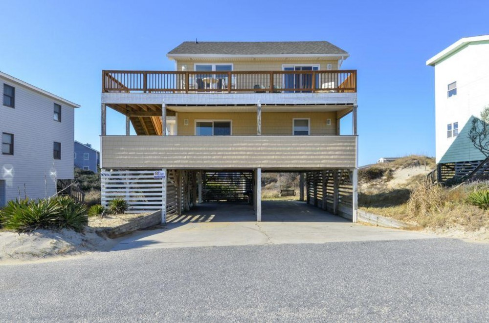 South Nags head vacation rental with Sunny Delight
