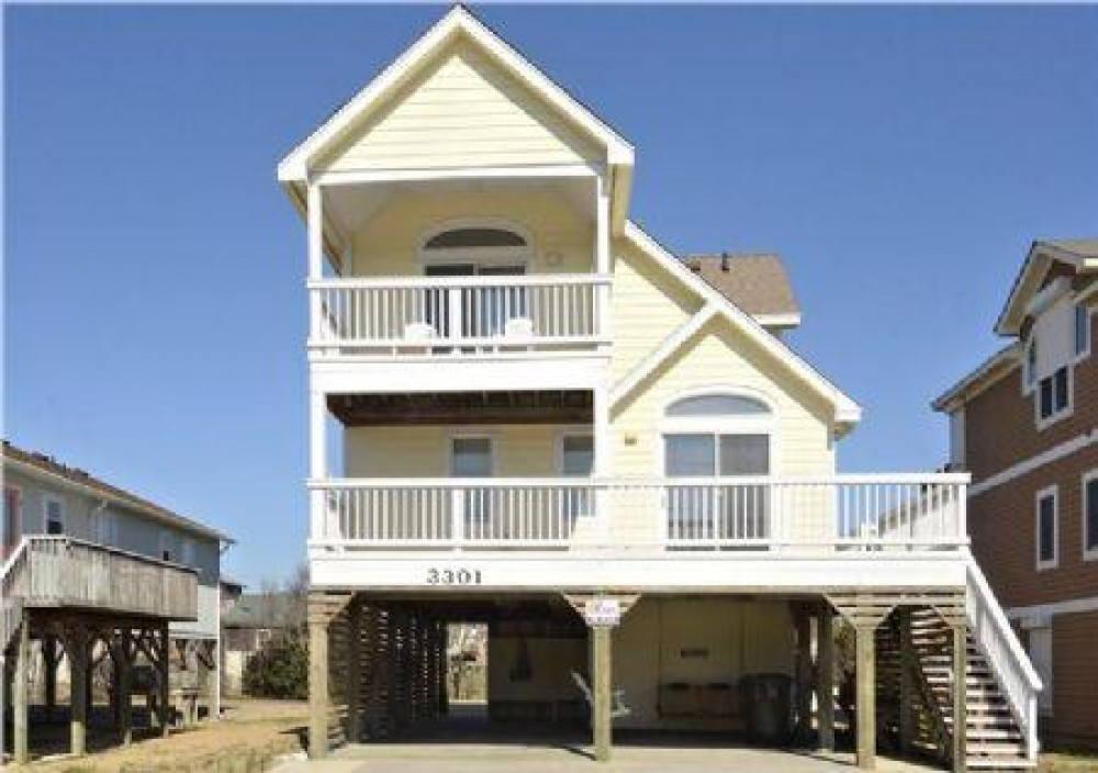 Nags Head vacation rental with Front Elevation