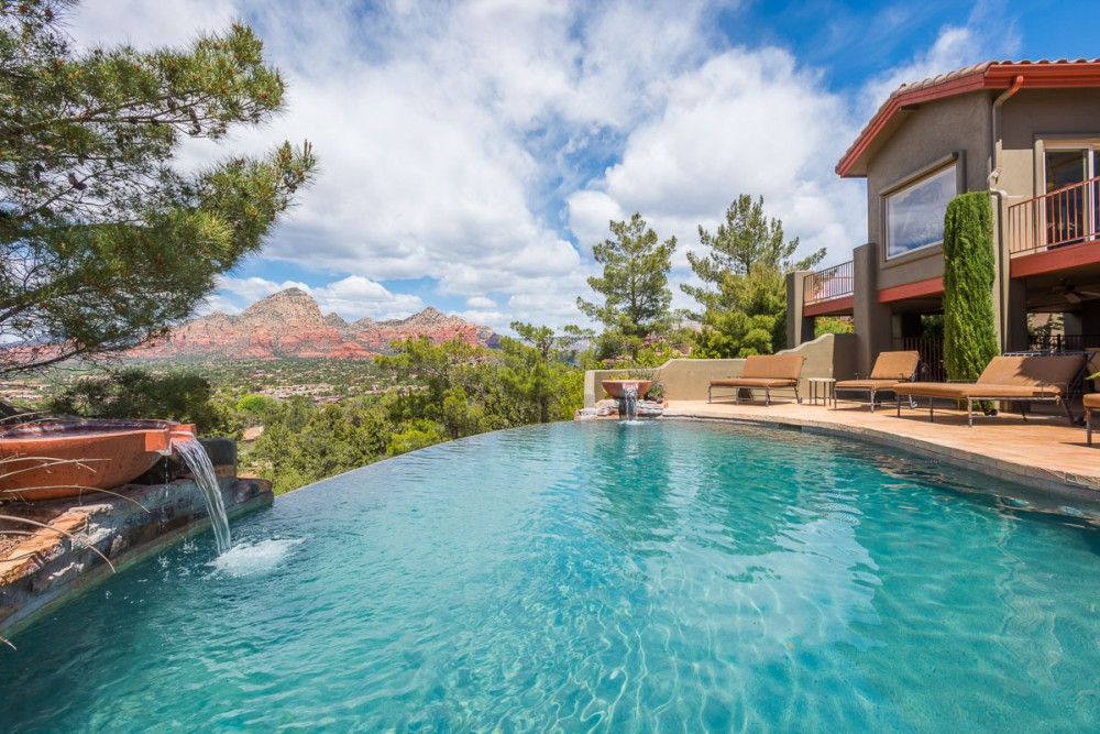 Sedona vacation rental with Private pool and spa