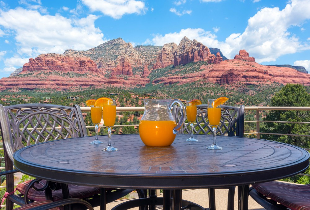 Sedona vacation rental with Deck with Views