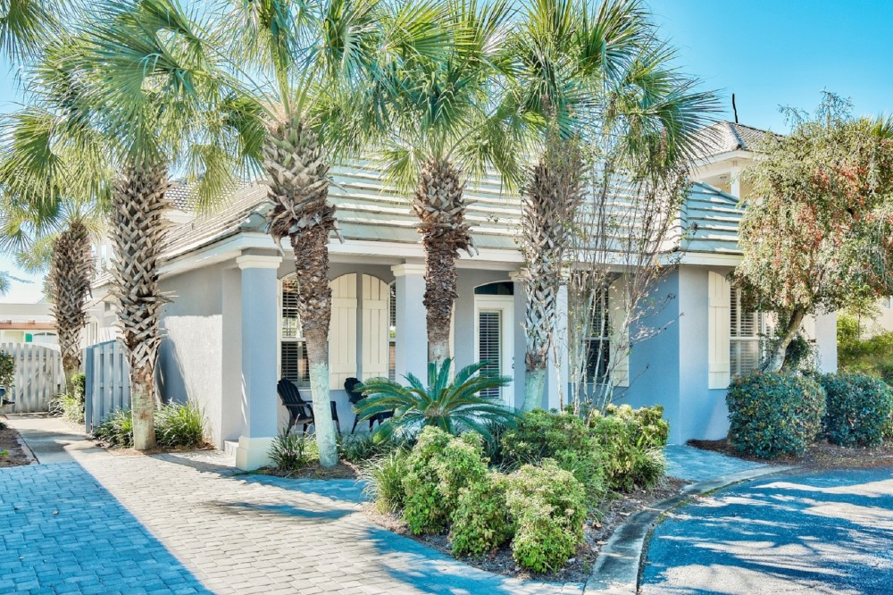 Miramar Beach vacation rental with Front of house #1.