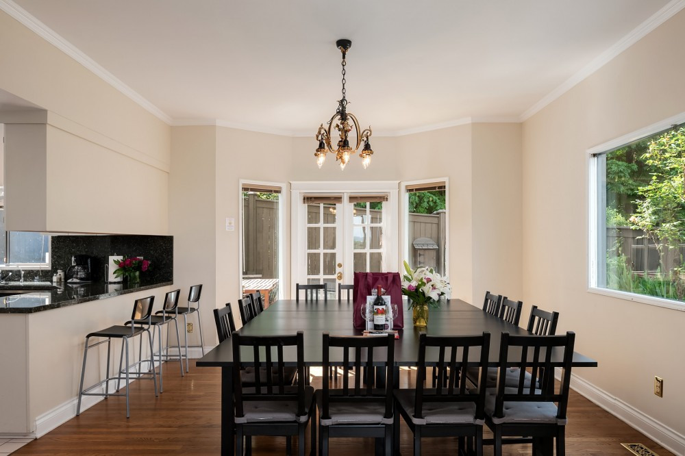 Seattle vacation rental with Gather the whole crew for a family dinner