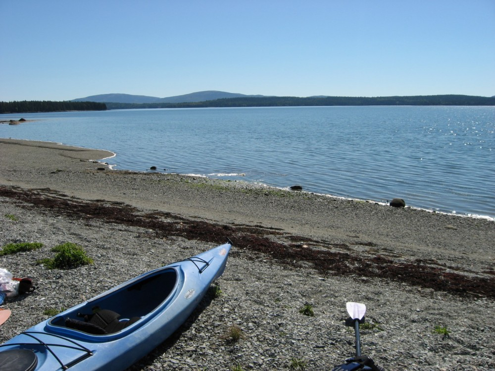 Trenton vacation rental with NortherNest - Private beach with views of Acadia