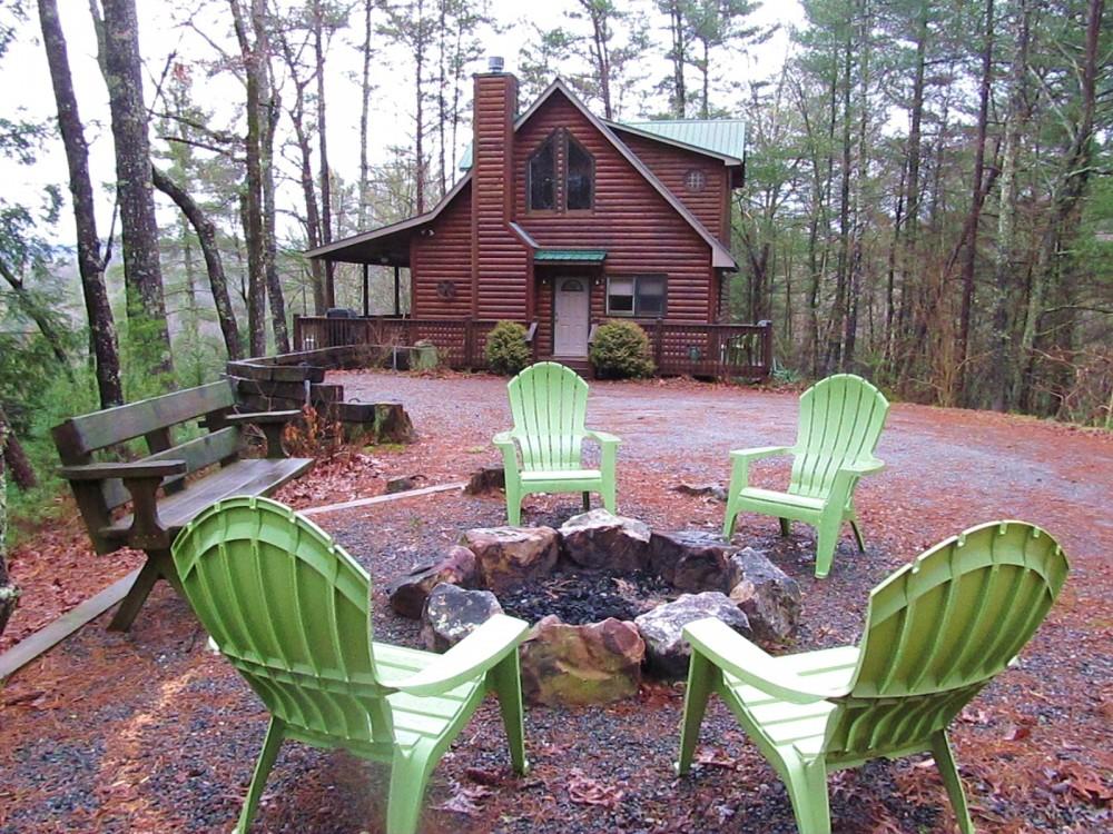 Blue Ridge vacation rental with Five Ridge Bluff