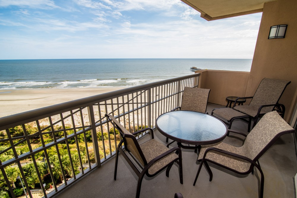 Myrtle Beach vacation rental with Oceanfront Balcony