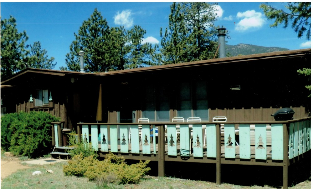 Estes Park vacation rental with South deck