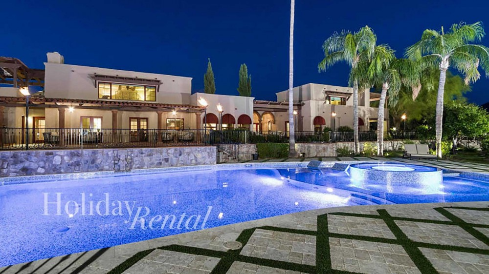Scottsdale vacation rental with Amazing resort style backyard and pool