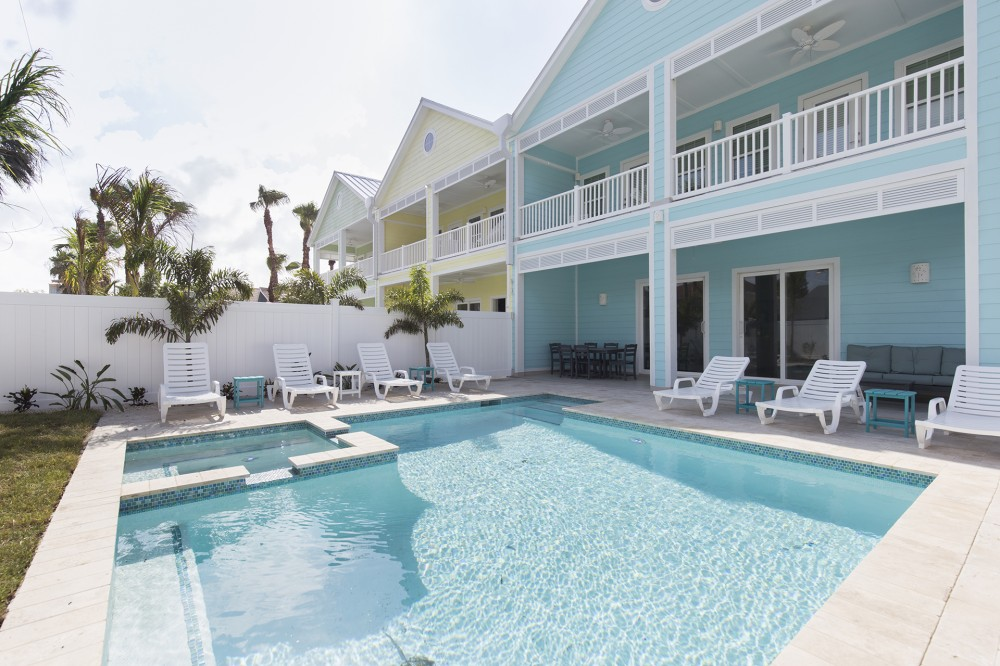 South Padre Island vacation rental with Private Pool Hot Tub Area