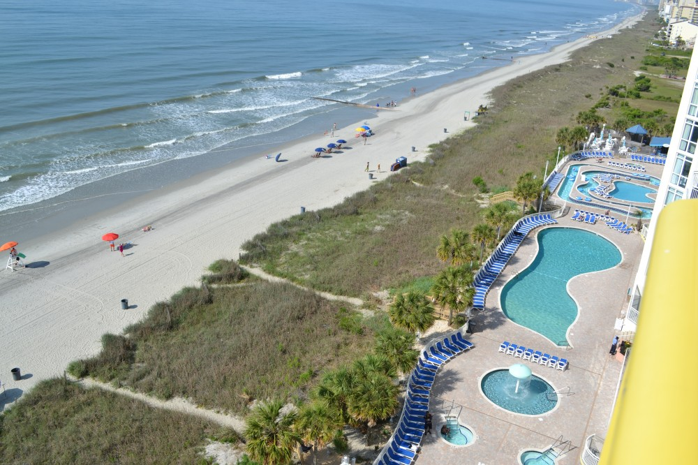 North Myrtle Beach vacation rental with Balcony view