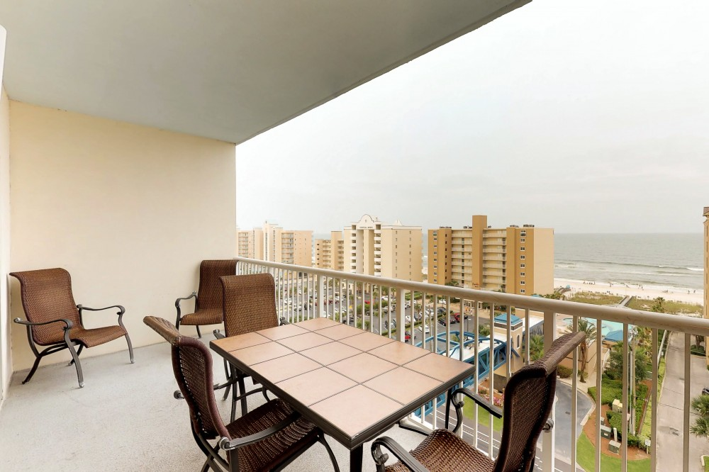 Gulf Shores vacation rental with Crystal Towers Balcony