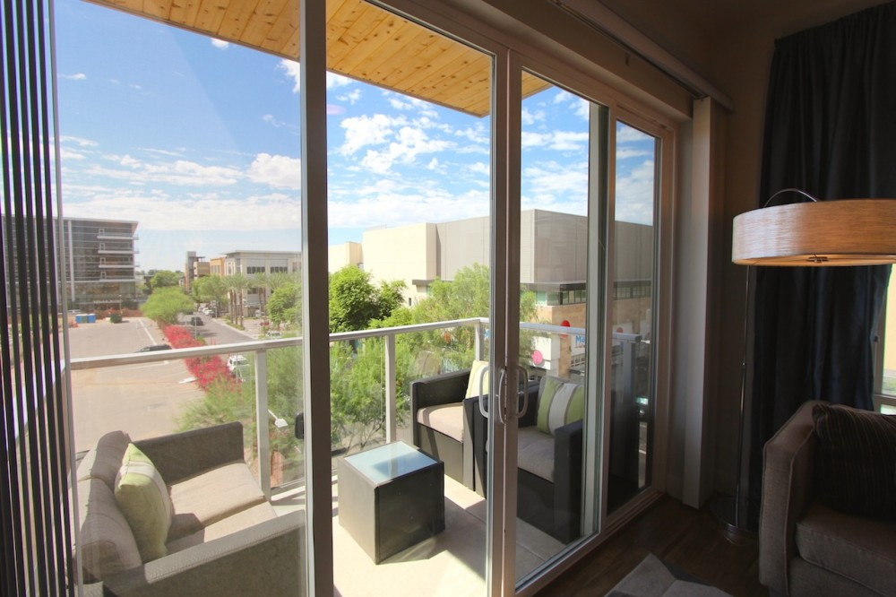 Scottsdale vacation rental with Furnished patio with views.