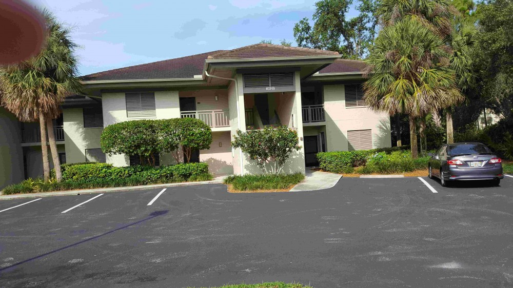 Bonita Springs vacation rental with Condo is the top right unit