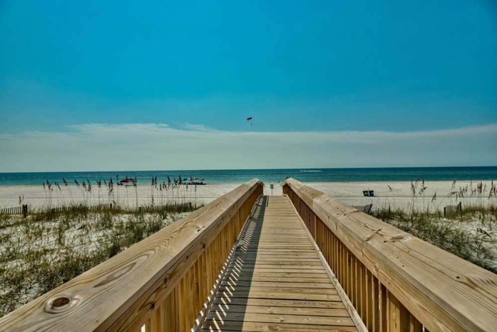 Gulf Shores vacation rental with The Gulf of Mexico