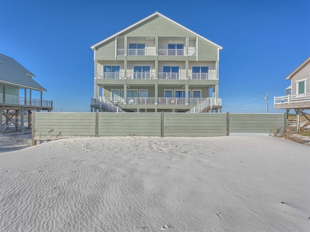 Fort Morgan vacation rental with Exterior-Back 1