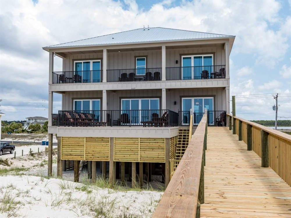 Gulf Shores vacation rental with Back of House 1