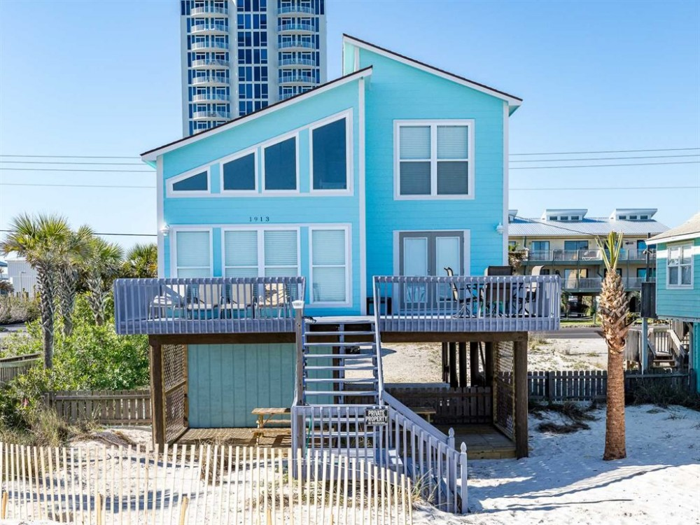 Gulf Shores vacation rental with Back 1