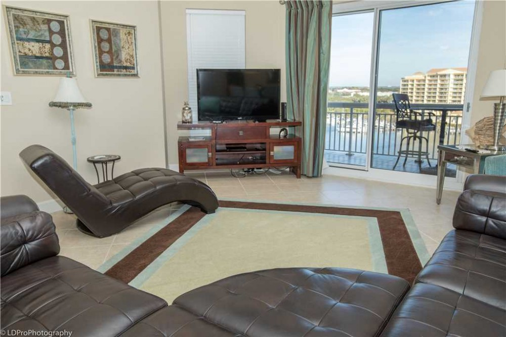 Destin vacation rental with LivingRoom