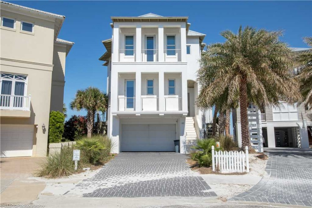 Destin vacation rental with ExteriorofHome