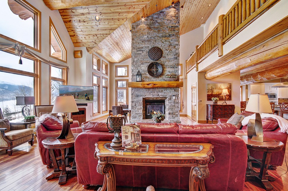 Silverthorne vacation rental with Woodland Lodge at Ruby Ranch