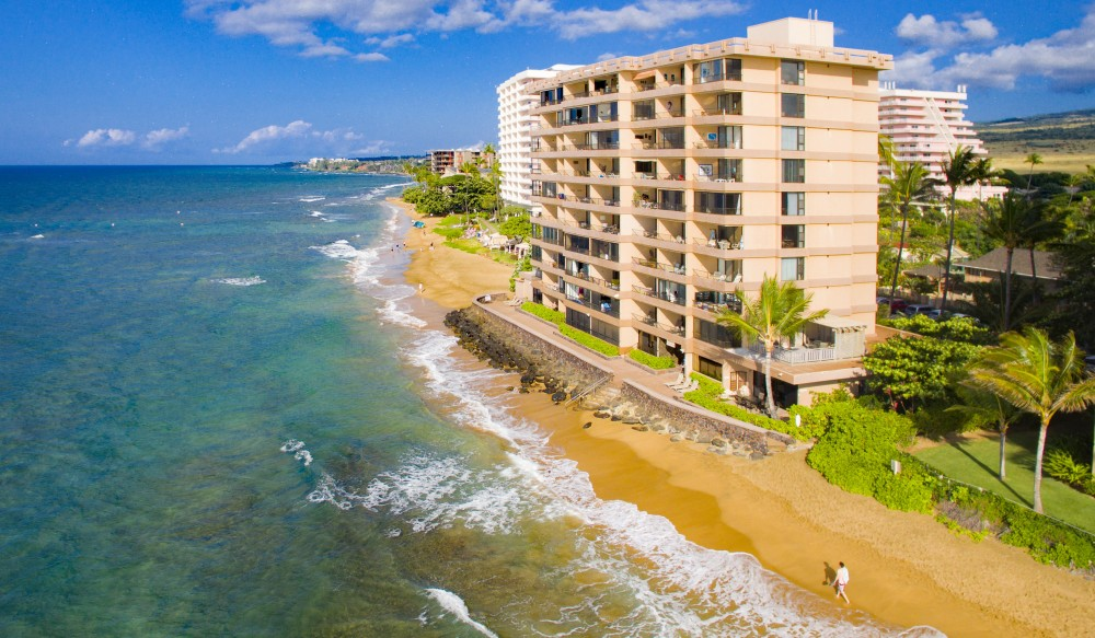 Kaanapali vacation rental with Maui Kai 807 Oceanfront Deluxe Studio Condo