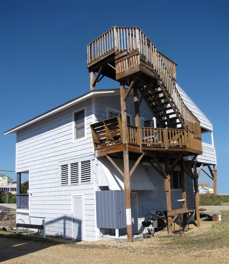 Nags Head vacation rental with Back