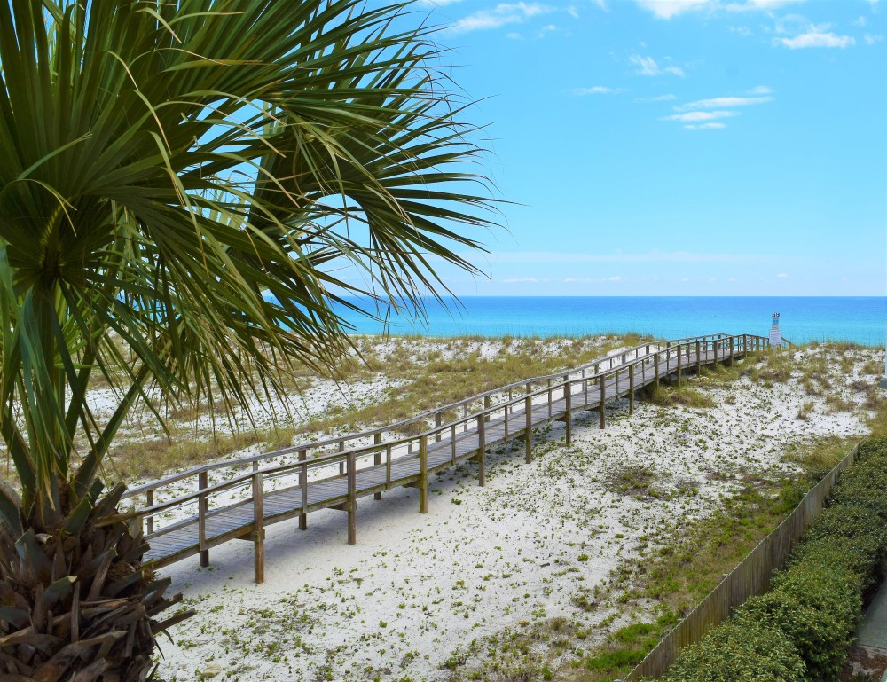 Pensacola Beach vacation rental with Picturesque Gulf Front Condo  Close to everything