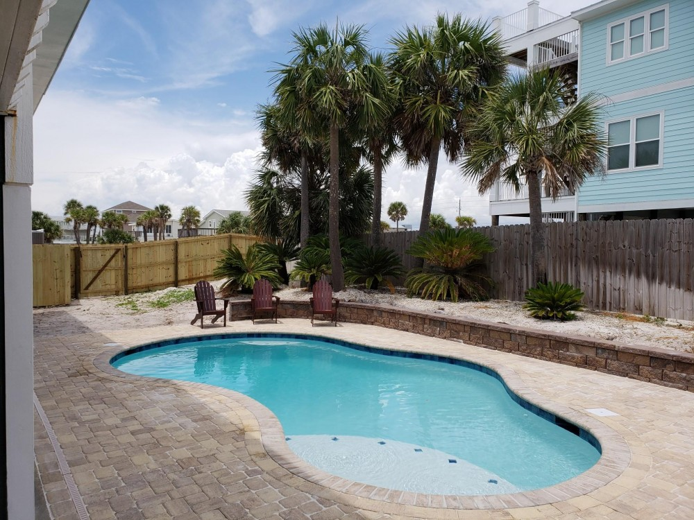 Pensacola Beach vacation rental with GORGEOUS BRAND NEW POOL  You won t find another home like this anywhere