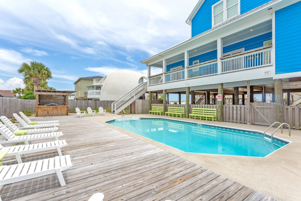 Pensacola Beach vacation rental with Incredible Gulf View Home W  Pool-Sleeps 30 people  Bring the whole family