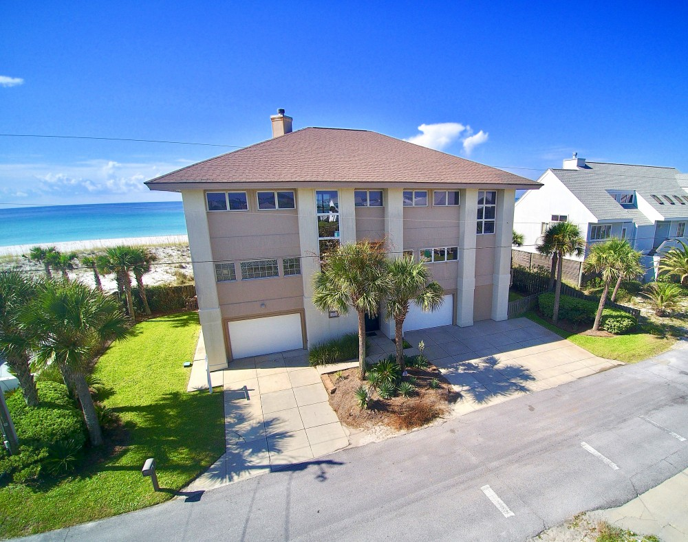 Pensacola Beach vacation rental with FREE SPRING NIGHTS  Completely renovated  elegant Gulf Front Home